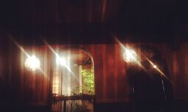 Деревенский интерьер стоковая фотография rf