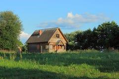 Деревенский дом. Стоковые Фото