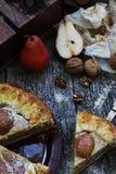 Деревенский пирог Стоковая Фотография RF