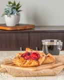 Деревенский портрет пирогов плодоовощ Стоковые Фото