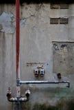 Деревенский тубопровод стоковое фото rf
