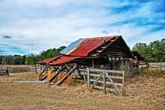 деревенское амбара старое Стоковое Фото