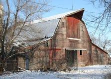 деревенское амбара старое Стоковые Фото