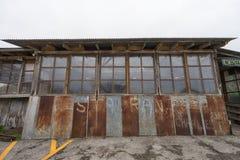 Деревенское здание ресторана в Gruene Техасе стоковые фотографии rf