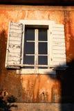 Деревенское окно Стоковые Изображения