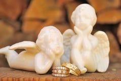 Деревенское приглашение свадьбы Стоковое Изображение RF
