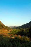 Деревни северного Лаоса Стоковое фото RF
