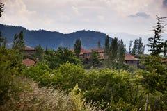 Деревня ландшафта Стоковое Изображение RF