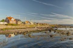 Деревня береговой линии Torekov Стоковое Фото