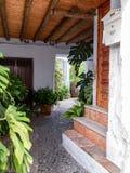 Деревня внутреннего патио андалузская стоковое фото