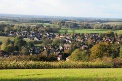 Деревня в сельской местности Стоковые Фото