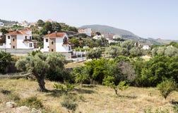 Деревня в сьерра-неваде стоковое изображение rf