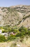Деревня в сьерра-неваде стоковые изображения