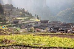 Деревня в южном Китае Стоковое Изображение RF