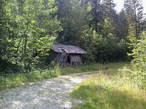 Деревня в Arvillard, Франции стоковое фото