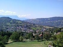 Деревня в Arvillard, Франции Стоковые Фотографии RF