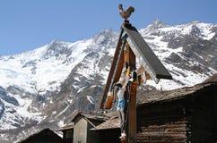 Деревня гонорара Saas стоковые фотографии rf