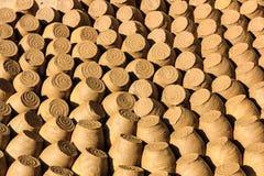 Деревня гончарни Thanh Ha, Hoi, Quang Nam, Вьетнам Стоковая Фотография