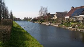 Деревня Голландия Woghnum Стоковые Фото