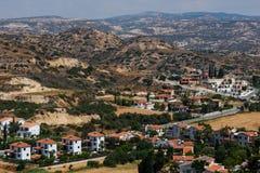 Деревня залива Pissouri Кипр стоковое изображение rf