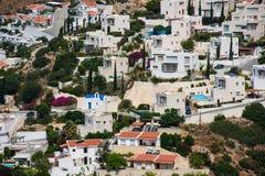 Деревня залива Pissouri Кипр стоковые изображения rf