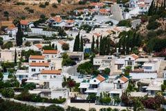 Деревня залива Pissouri Кипр стоковое изображение