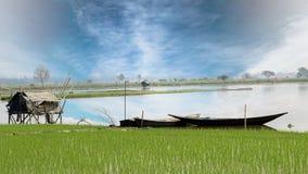 Деревня Индии Стоковое фото RF