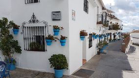 Деревня Испания Mijas Стоковые Изображения RF