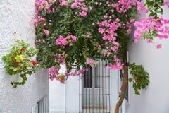 Деревня Испания Mojacar Альмерии белая среднеземноморская Стоковое Изображение RF