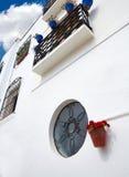Деревня Испания Mojacar Альмерии белая среднеземноморская Стоковые Изображения
