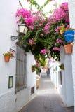 Деревня Испания Mojacar Альмерии белая среднеземноморская Стоковая Фотография RF