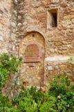 Деревня Испания Mojacar Альмерии белая среднеземноморская Стоковая Фотография