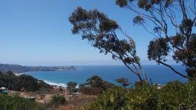 Деревня и берега La Jolla Стоковое фото RF