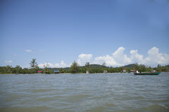 Деревня Камбоджи Стоковое фото RF