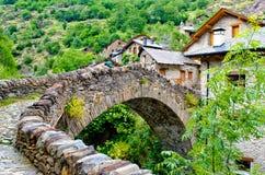 Деревня Каталонии стоковое изображение