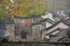 Деревня клана Qin старая в провинции Guangxi в Китае Стоковое фото RF