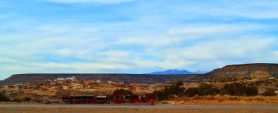 Деревня коренного американца (индийская) Стоковые Фотографии RF
