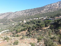 Деревня Ливан стоковые изображения