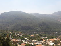 Деревня Ливан Стоковые Фото