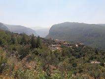 Деревня Ливан Стоковая Фотография