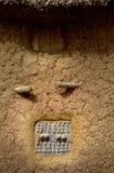 Деревня Мали, Африки - Dogon и типичные здания грязи Стоковые Фотографии RF