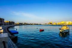 Деревня наследия Дубай стоковая фотография