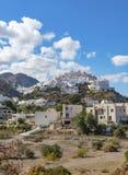 Деревня на вершине холма Mojacar Стоковые Фото