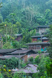Деревня на к северу от Таиланде Стоковые Изображения