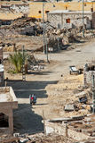 Деревня оазиса Siwa Стоковые Изображения RF