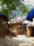 Деревня дома грязи Стоковые Фото