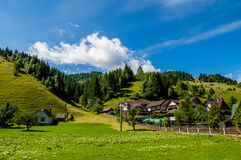 Деревня дома Стоковая Фотография RF