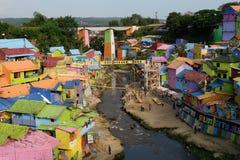 Деревня радуги Стоковое Фото