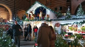 Деревня рождества стоковое изображение rf