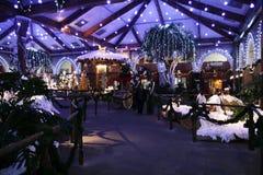 Деревня рождества Стоковые Фотографии RF